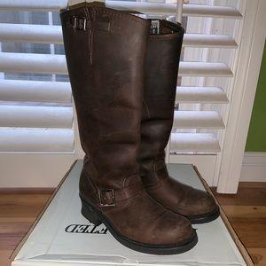 "Frye engineer 15""R boot Gaucho size 7"